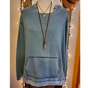 AEO blue hoodie size large